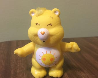 Sunshine Care Bear Figure Doll Toy LIKE NEW CONDITION