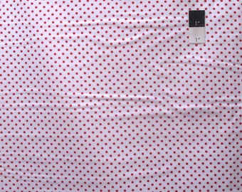 Tanya Whelan TW43 Delilah Dots White Cotton Quilting Fabric By The Yard