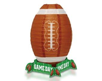 Game Day Football Lantern Centerpiece - 59973 -  fnt