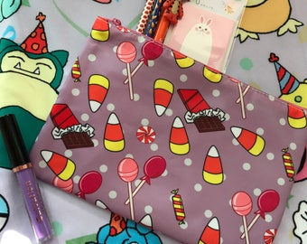Sweetie Treats All Over Print Clutch Pencil Case Cosmetic Bag