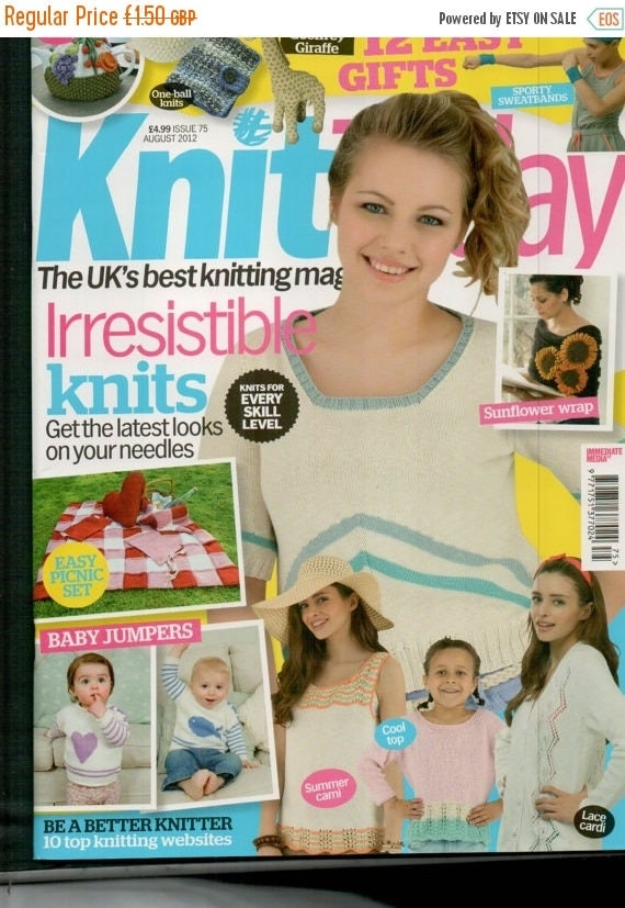Christmas In July Knit Today Knitting Magazine Issue 75 August 2012