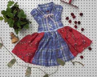 Recycled Summer Orchard Dress