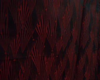 Vintage michiyuki S758, dark red black