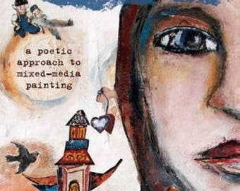Sale! Layered Impressions by Katie Kendrick - a poetic approach to mixed-media painting
