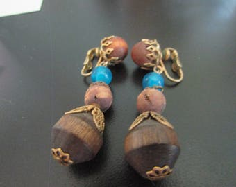 wood dangle clips