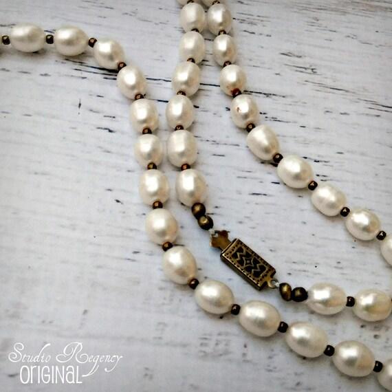 collier perle naturale pret