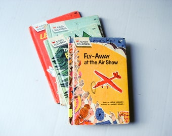 Classic Easy Reader hardback books - set of 4