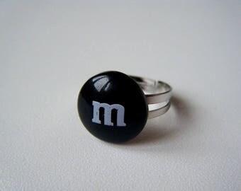 Ring - Sweet black M