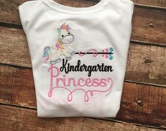Kindergarten Princess Tee Shirt