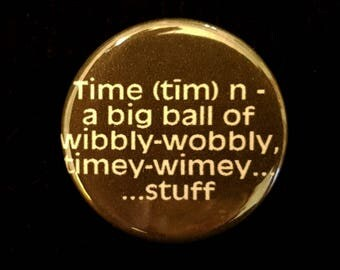 Doctor Who Time Pin
