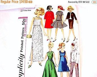 MOUCHERON Vintage poupe 1962 Mattel brune bulle coupe