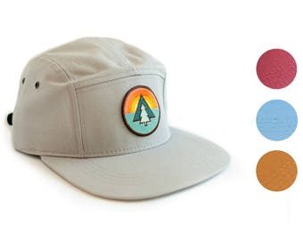 Baseball Cap with Tree Patch