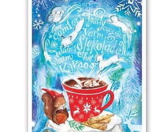 Hot Chocolate - Varm Sjokolade!