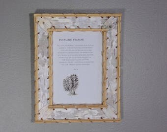 5 x 7 Birchbark Frame