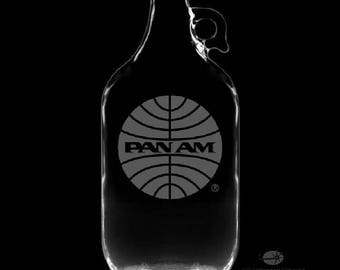 Pan Am 64 Ounce Personalized Growler