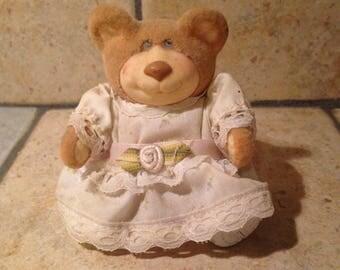 Posable Furskins Bear Doll