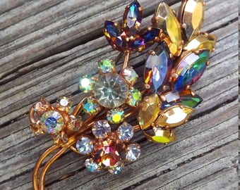 1950s SUPER sparkly brooch made in West Germany - charity for animals
