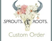 Custom Order for Taylore Johnson-Hetman