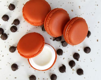 Macaron Lip Balm - Organic Lip Balm - Cute Lip Balm - Natural Lip Balm - Dessert Lip Balm - Gift For Her - Bath and Body Gift