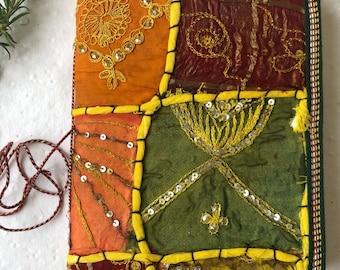 Journal, Wedding favor, Food Journal, Bullet Journal, Sari Art Journal, Task List Journal, Blank Book, Notes Book, Log Book, Big Journal