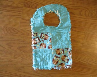 Baby Bib Flannel Handmade -- 01