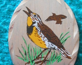 SALE Bird Genuine Birds Pewter Pendant