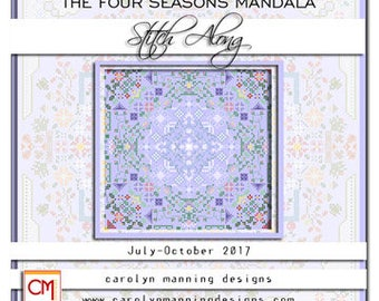 The Four Seasons Mandala Stitch Along, Carolyn Manning Designs