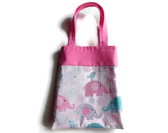 Elephant Gift Bag - Goodie Bag - Mini Tote