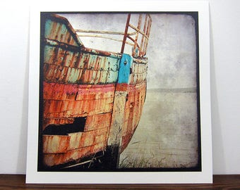 Boat #5 - Brittany - expo 30x30cm print - signed and numbered