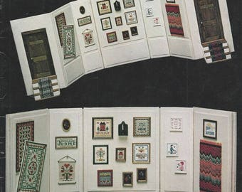 MINI-STITCH GALLERY designs by Clarice Elder, Doll House 1981