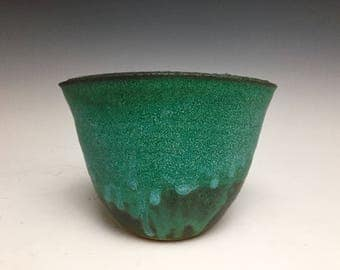 Small Bud Vase; Fine Art Ceramics; Florida Keys; Stoneware
