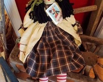 super sale primitive rare rag doll