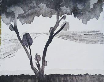 Ink paintings