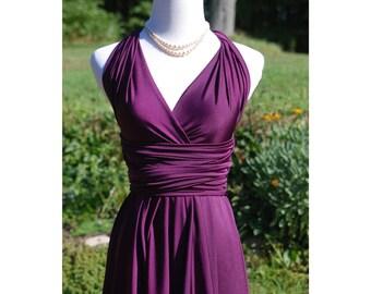 usa ALYSSA reserved listing, Knee length  Convertible dress, infinity dress, bridesmaids dress