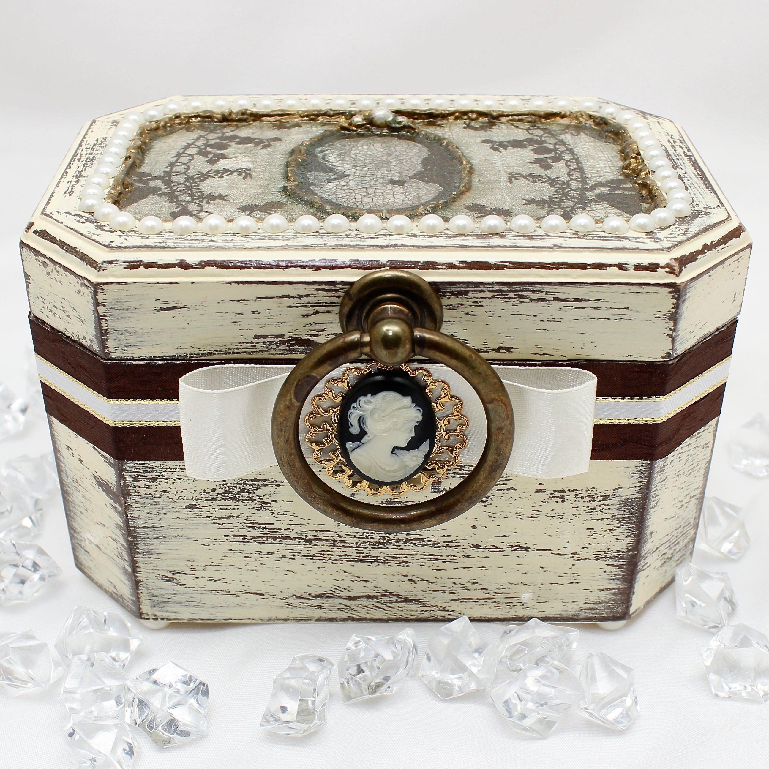 Jewelry Box Jewelry Storage Cameo Box Wedding Gift Decorative
