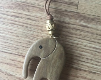 40% OFF The Vintage Two Faced Mumbai Elephant Necklace