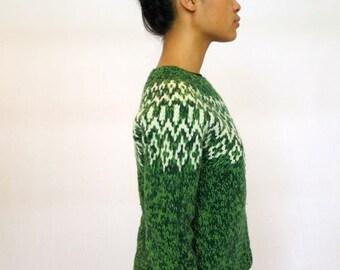 40% OFF The Green Winter Wonderland Sweater