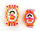 COLLECTIBLE CLOSEOUT SALE Vintage Solid Perfume Watch Small World Doll Avon Company