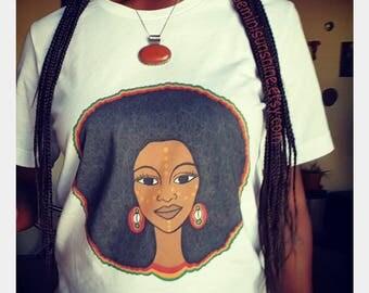 Afro Mama Unisex short sleeve t-shirt