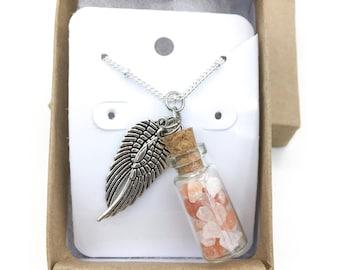 Himalayan Salt Charm Necklace