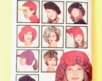 Butterick 3055 Hat Sewing Pattern