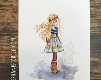 GRAB BAG Originals - Boho Fashion Watercolor
