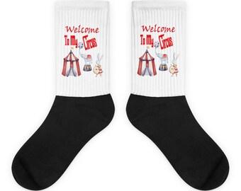 Welcome To My Circus Socks