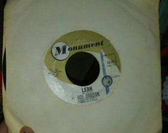 Vintage Monument Records Roy Orbison Leah & Workin for the Man