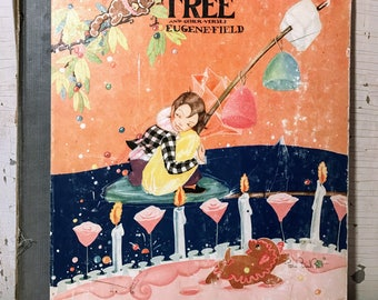 The Sugar-Plum Tree and other verses vintage book-1930-