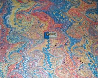 marbled paper, carta marmorizzata, decorative papers,. -  5910