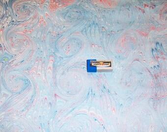 marbled paper,  cm 50 x 52   .carta marmorizzata,   -  921