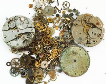 Steampunk - Watches, Gears, Springs and Fun - 1 Ounce - 1A