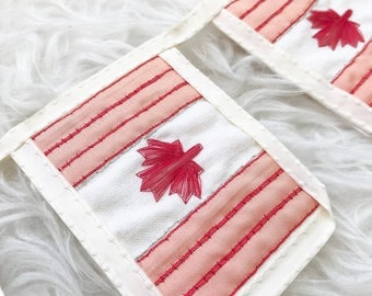 BANNER canada bunting canadian flag