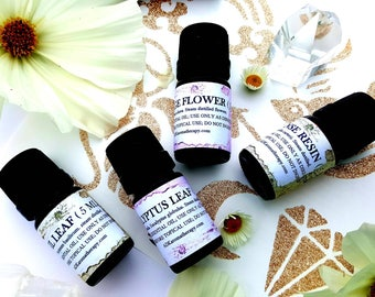 Kitchen Witch Essential Oil  Blend. Aromatherapy Blend of 12 raindrop healing oils. 5 ML